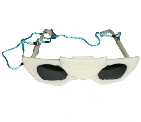 Skelett-Brille