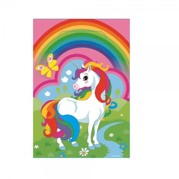 Geschenktüte Einhorn Regenbogen