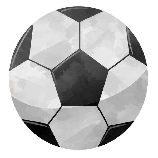 Essbarer Tortenaufleger Fußball