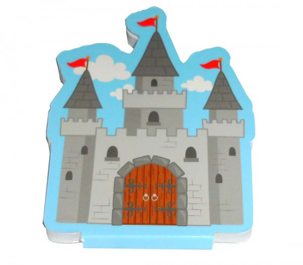 Notizblock Schloss
