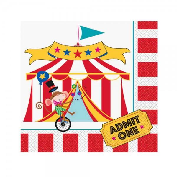 Zirkus-Servietten
