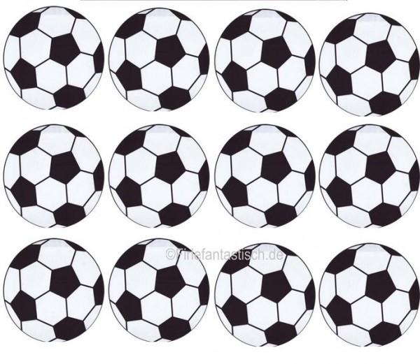 Muffinaufleger Fußball 12Stück