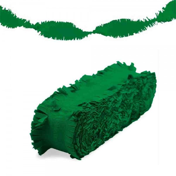 Grüne Fransengirlande