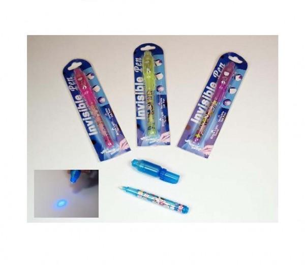 Geheimtinte Stift mit Licht 12 Stück
