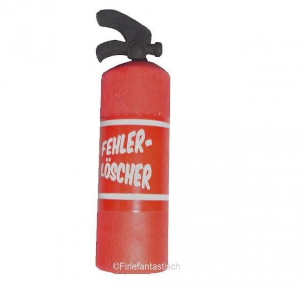 Radiergummi Feuerlöscher