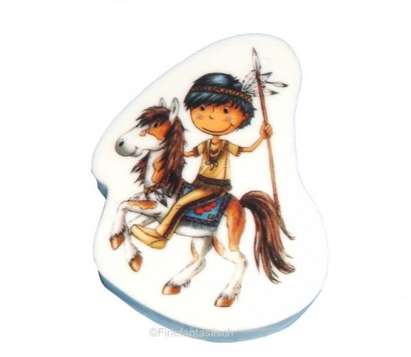 Indianer-Radiergummi