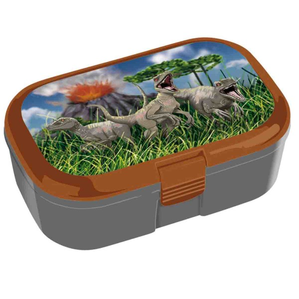 Praktische Dino Lunchbox