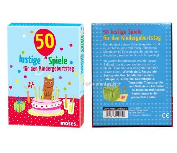Kindergeburtstag 50 lustige Spiele