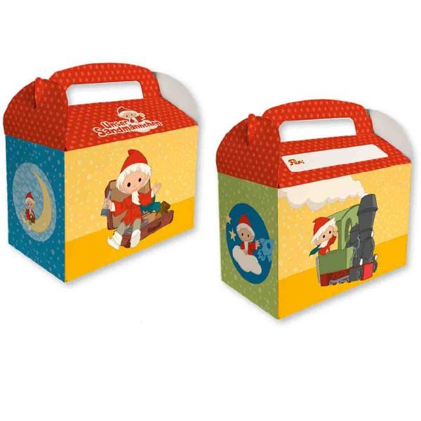 8 Geschenkboxen Sandmännchen