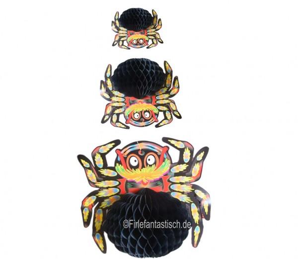 Spinnen-Hängedeko Waben