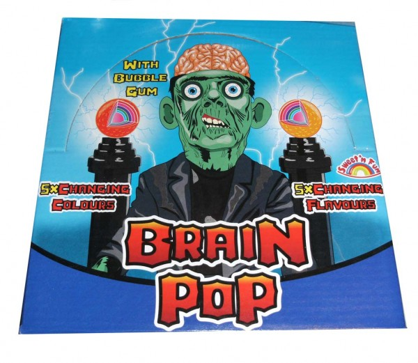 Gehirn-Lolly