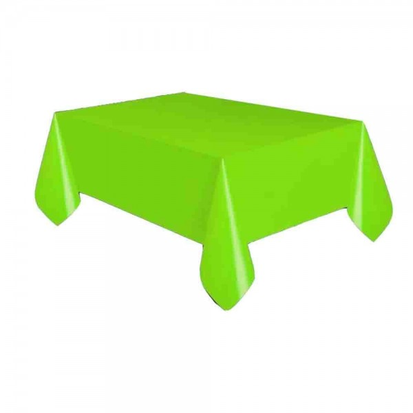 Kunststoff-Tischdecke Hellgrün
