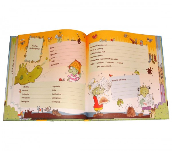 Olchi Freundebuch