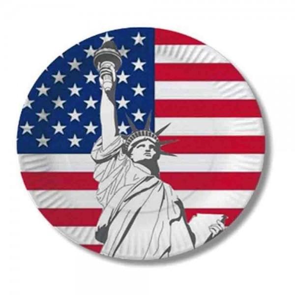 USA-Teller 10St.