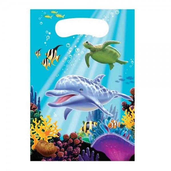 Mitgebseltüte für die Unterwasserparty