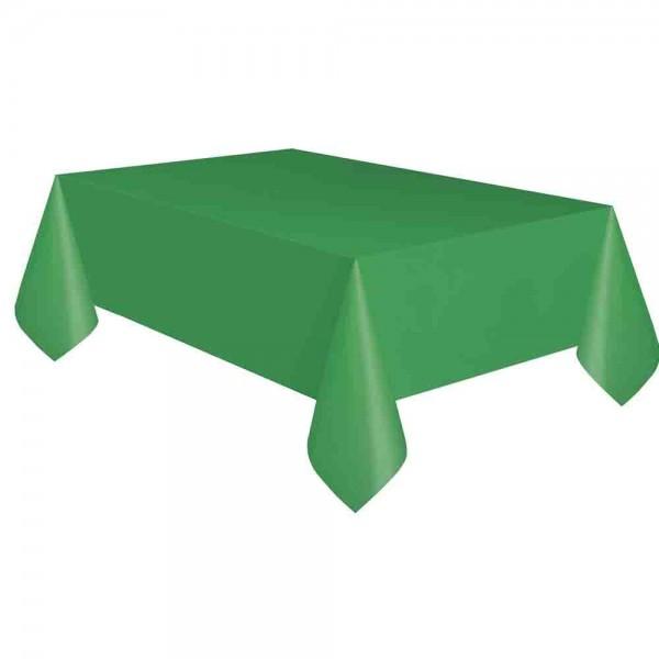 Kunststoff-Tischdecke Grün