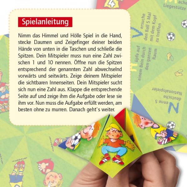 Himmel und Hölle Spiel Fußball 8St.