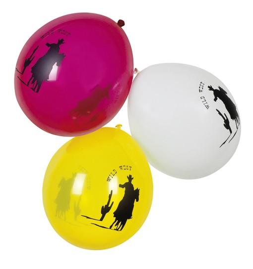 Cowboy-Ballons