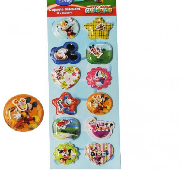 Mickey Mouse 3D-Sticker