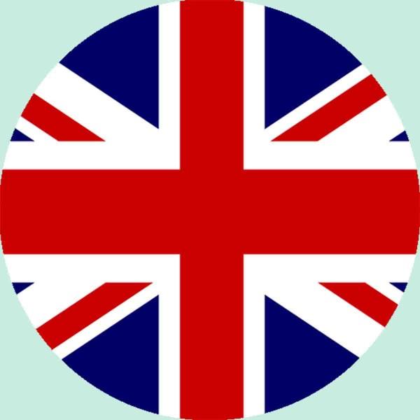 Essbarer Aufleger für die England Party