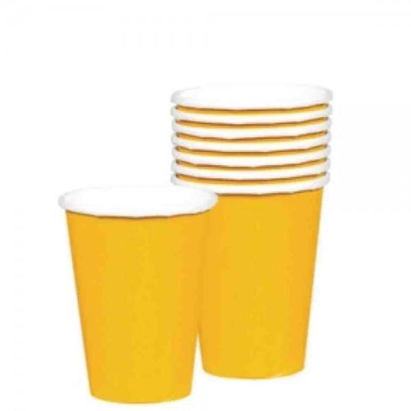 Gelbe-Becher
