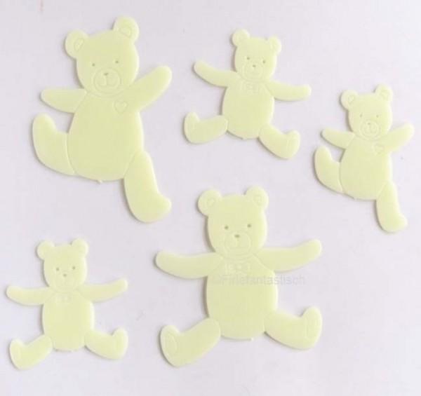 Fluoreszierende Teddys