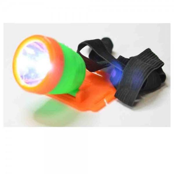Kopflampe für Forscher und Spürnasen