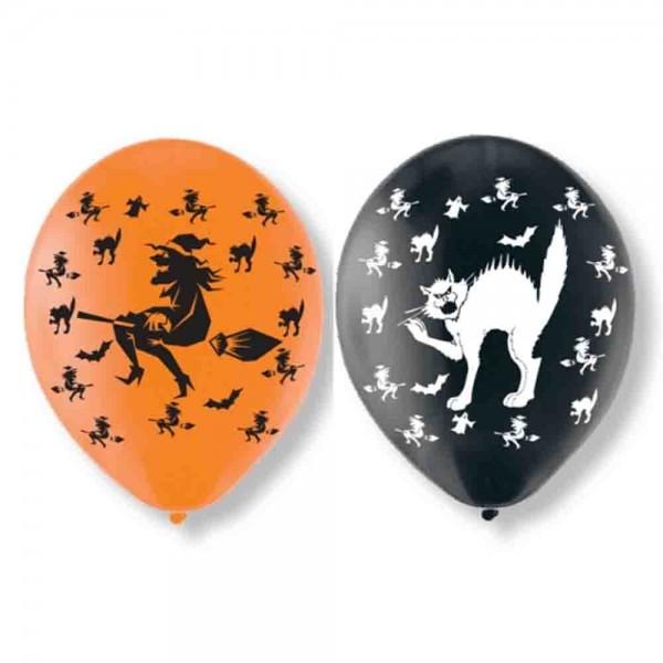 Ballons für den Kindergeburtstag Hexen