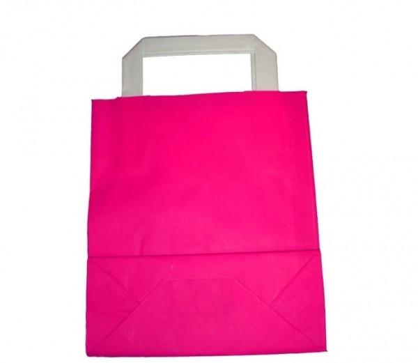 Papiertasche Pink 100 Stück