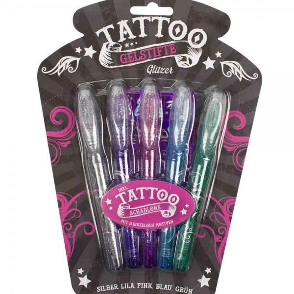 Wunderschöne Glitzerstifte für Tattoos