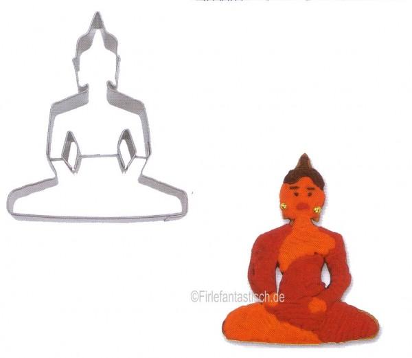 Keksausstecher Buddha