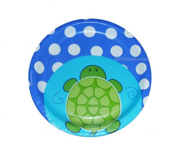 Schildkröten-Teller niedlich