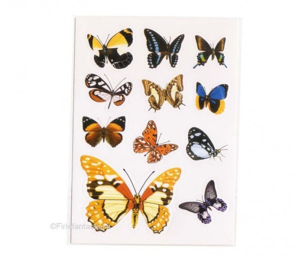 Foto-Sticker Schmetterling