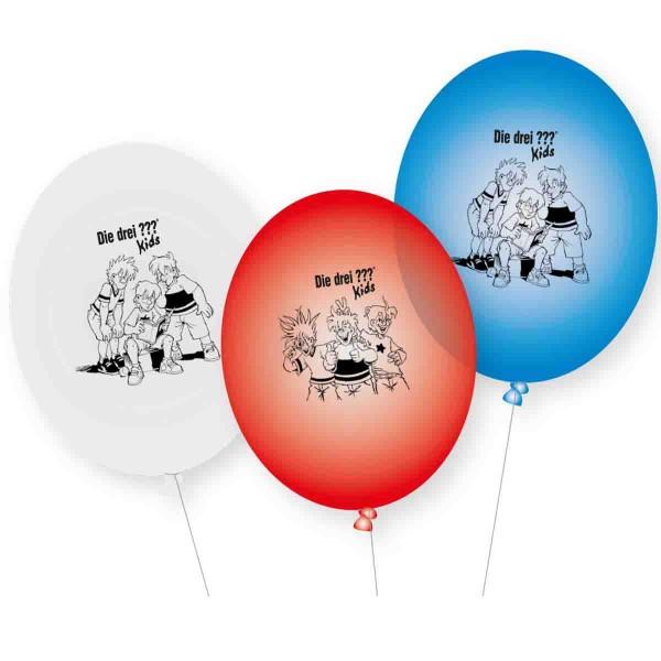 """Luftballons für die Detektivparty """"Drei Fragezeichen Kids"""""""