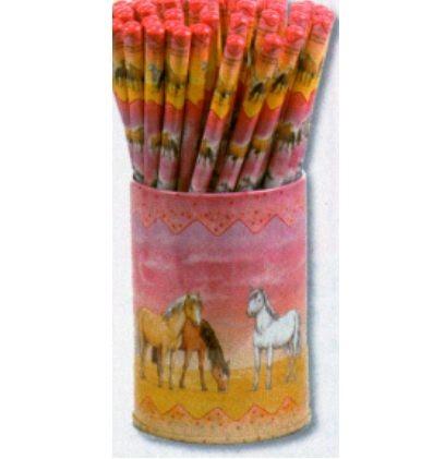 Pferde-Bleistiftdose