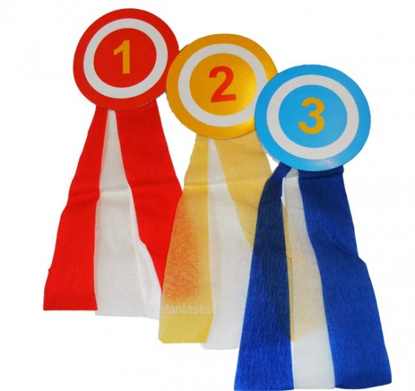Siegermedaillen Partyspiele 3er-Set
