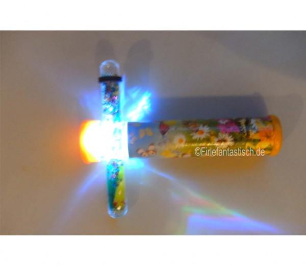 Kaleidoskop mit LED-Licht